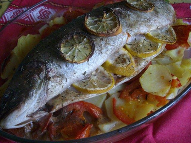 Truite saumon e au four le blog de manu - Comment cuisiner la pomme de terre ...