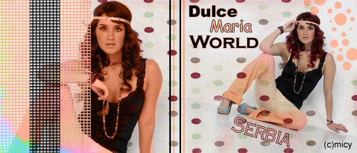Dulce Maria World Serbia
