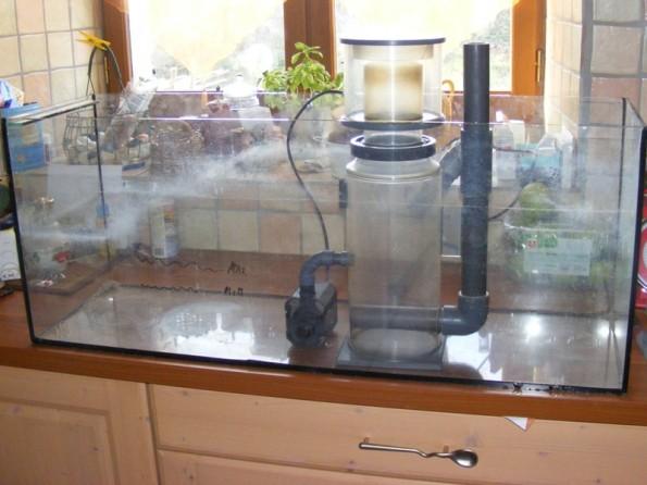 Fabrication d cante 120 litres aquarium r cifal for Bac pour debordement