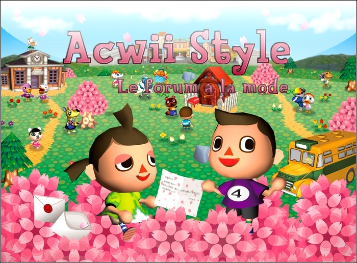 Animal Crossing wii Style