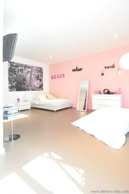 Beautiful Chambre Rose Et Blanc Photos - Matkin.info - matkin.info