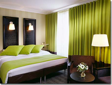 Chambre chocolat anis for Chambre vert anis