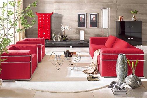 rideau de salon beige et rouge 10 rennes dcoration - Deco Salon Gris Et Rouge