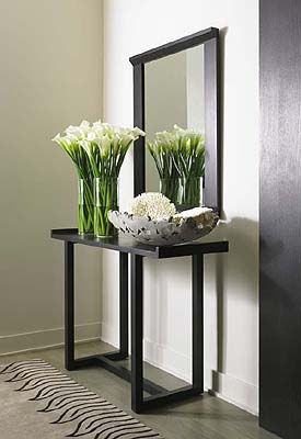 petite console pour couloir. Black Bedroom Furniture Sets. Home Design Ideas
