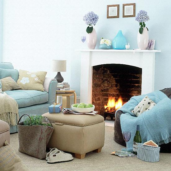 Quelle couleur murs pour salon avec canopy bleu fonc et parquet ch ne clair page 2 - Decoration salon bleu et beige 2 ...