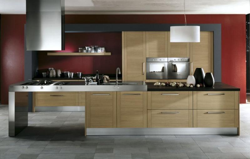 Carrelage gris cuisine cuisine en chne loft la campagne cuisine publie dans le magazine ct sud for Quel couleur pour une salle de bain