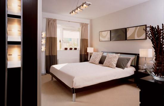 Meuble de chambre blanc quelle couleur pour les murs design de maison - Couleur murs chambre ...