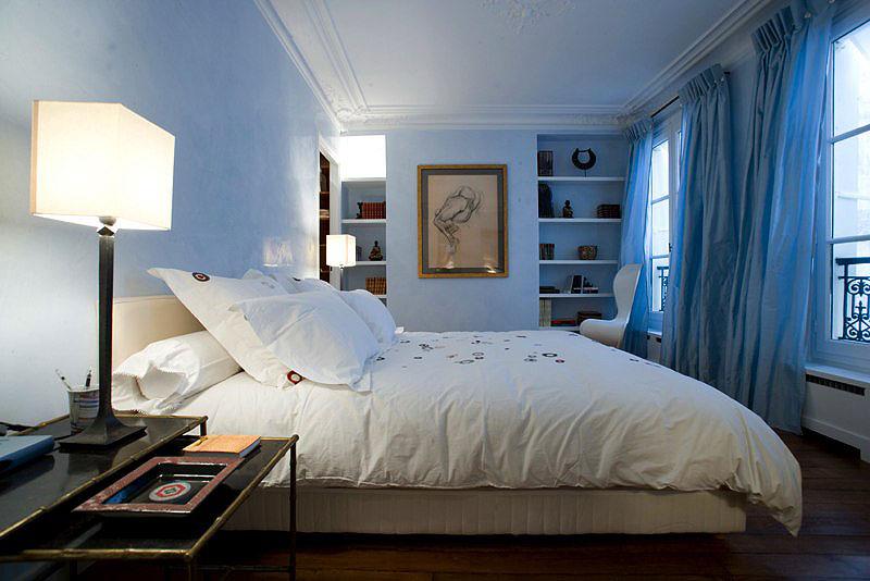 Sondage pour ma chambre for Chambre parentale bleue