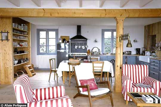 Une jolie maison bretonne - Maison bretonne moderne ...