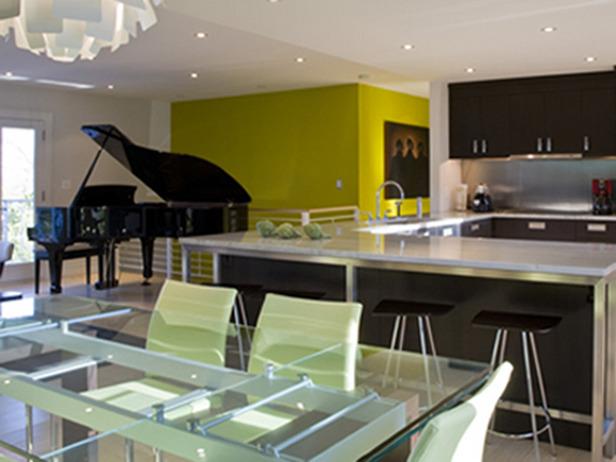 Cuisine ouverte sur salle salon et entr e page 1 for Cuisine ouverte sur entree et salon