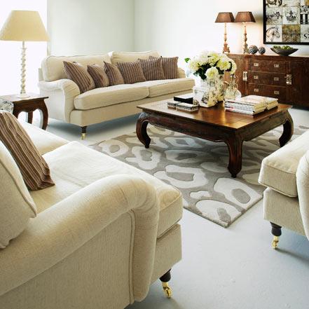 S jour avec meubles style louis philippe for Meuble de sejour design
