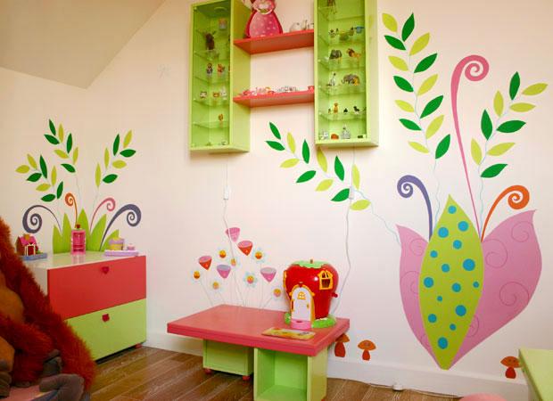 salle de jeu enfant 1 et 3 ans. Black Bedroom Furniture Sets. Home Design Ideas