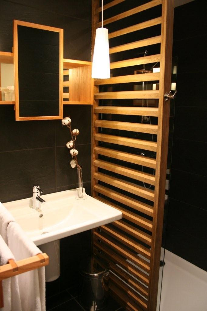 salle de bain douche a l 39 italienne. Black Bedroom Furniture Sets. Home Design Ideas