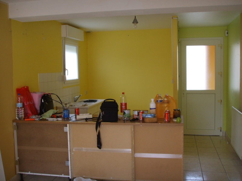 Entree cuisine salle manger et salon dans la meme piece besoin d 39 id e p - Cuisine et salon dans la meme piece ...