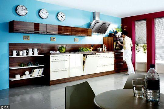 Je refais ma cuisine - Meuble cuisine couleur vanille ...
