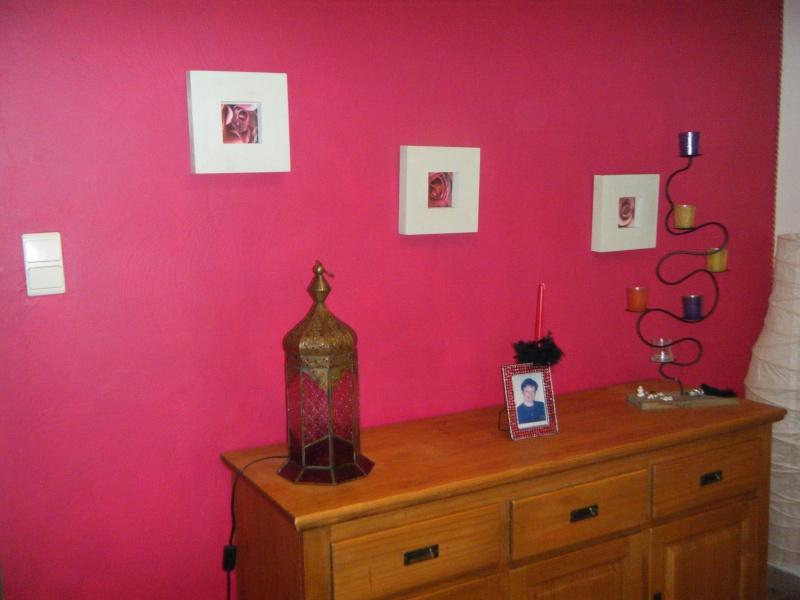 Petit conseil page 2 - Mur couleur framboise ...