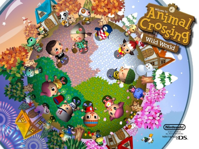 how to play animal crossing on ds