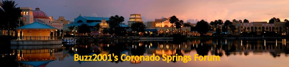Coronado Springs Resort Forum